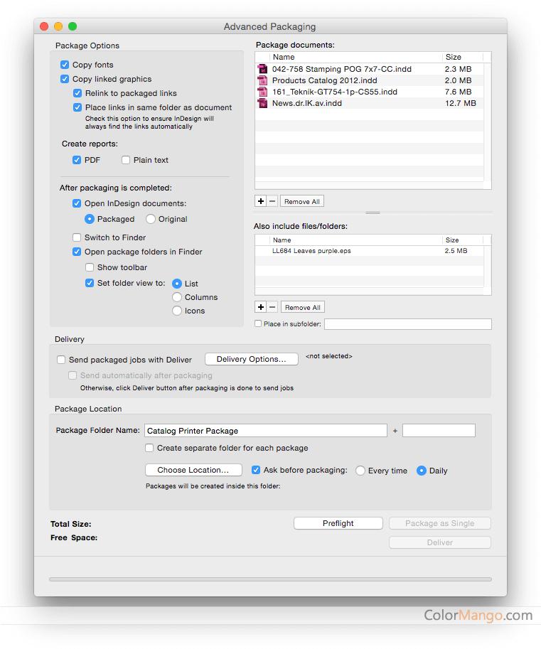 InPreflight Pro Screenshot