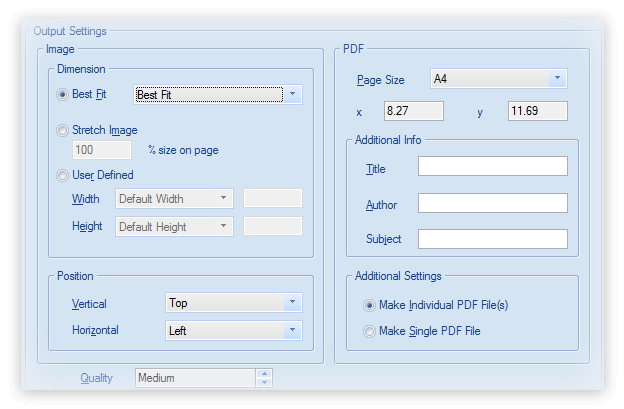 Kernel for Image to PDF Screenshot