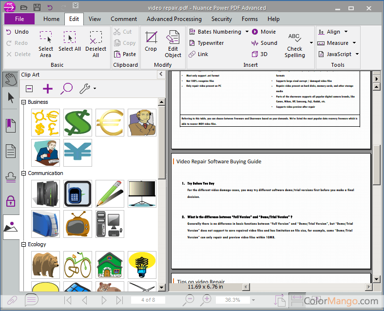what is nuance pdf viewer