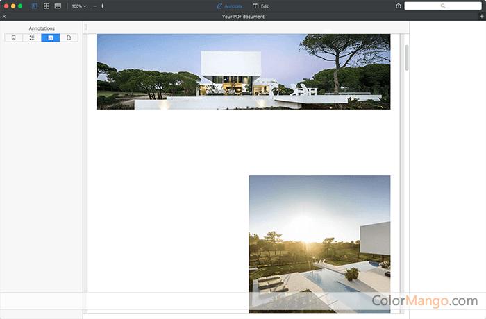 PDF Expert pour Mac Capture D'écran