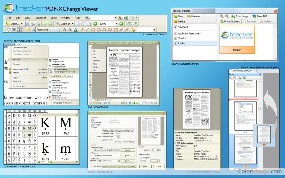 PDF-XChange Viewer Bildschirmfoto