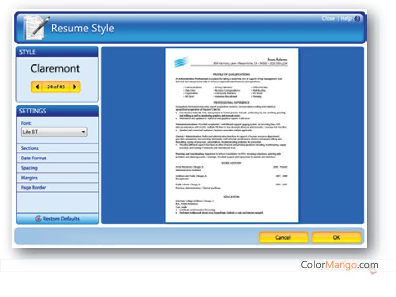 Buy resume maker
