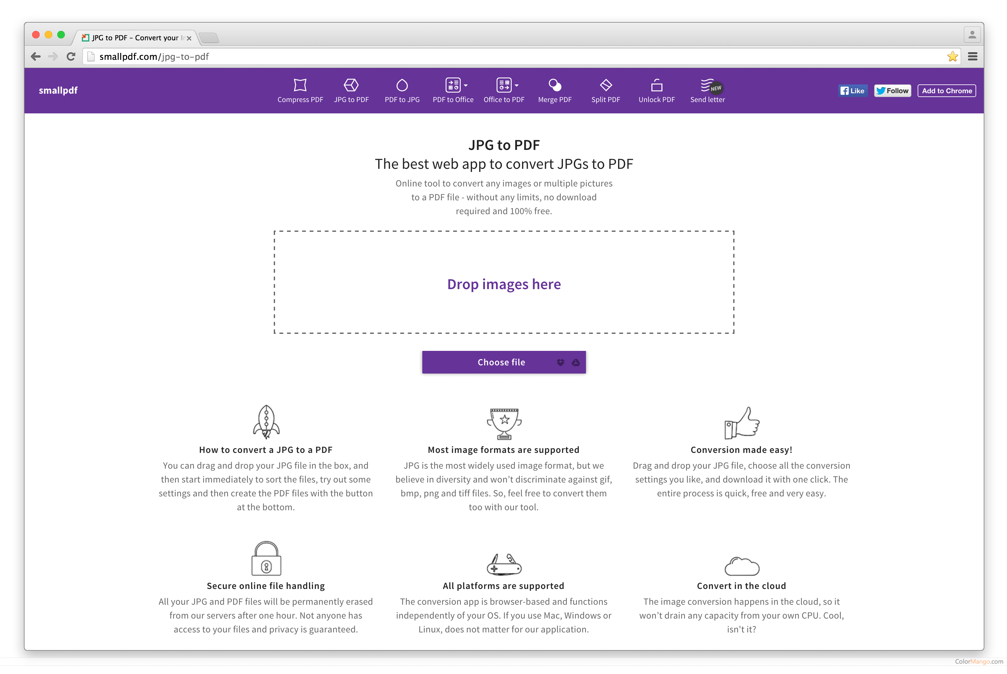 smallpdf Screenshot