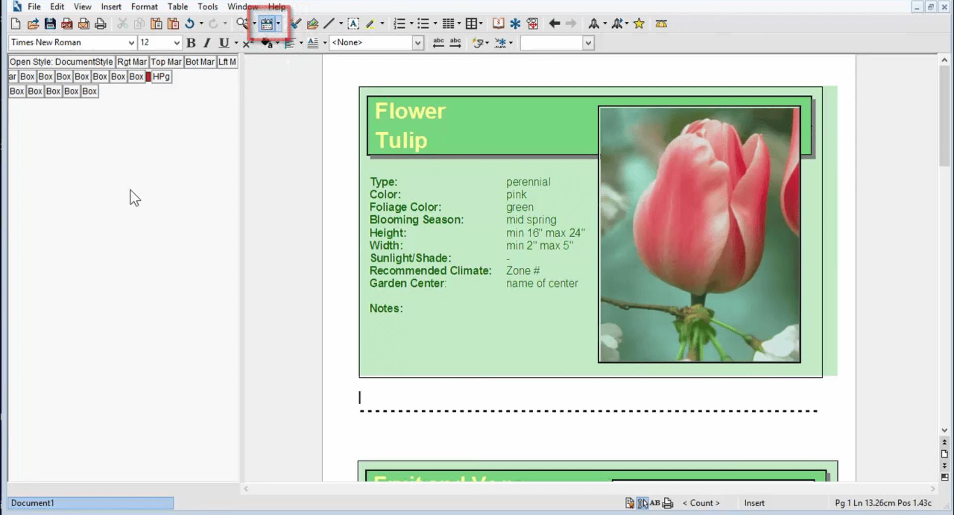 WordPerfect Office Standard Capture D'écran