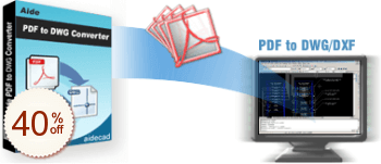 Aide PDF to DWG Converter Discount Coupon