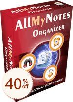 AllMyNotes Organizer de remise