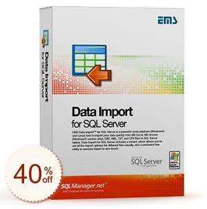 EMS Data Import for SQL Server Discount Deal