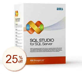 EMS SQL Management Studio for SQL Server Discount Coupon