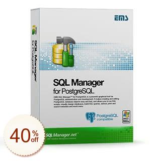 EMS SQL Manager for PostgreSQL Discount Deal
