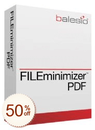 FILEminimizer PDF Discount Coupon