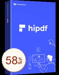 Wondershare HiPDF Discount Coupon