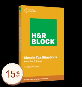 H&R Block Tax Discount Coupon