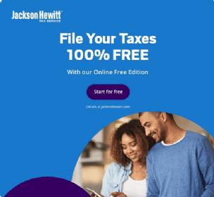 Jackson Hewitt Tax Service Boxshot