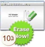 PDF Eraser PRO Discount Coupon Code