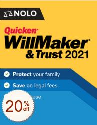 Quicken WillMaker & Trust OFF