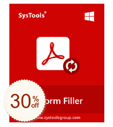 SysTools PDF Form Filler Discount Coupon