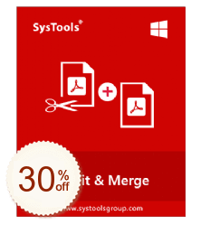 SysTools PDF Split & Merge Discount Coupon