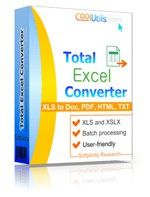 CoolUtils Total Excel Converter Shopping & Trial