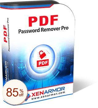 XenArmor PDF Password Remover Pro Discount Coupon