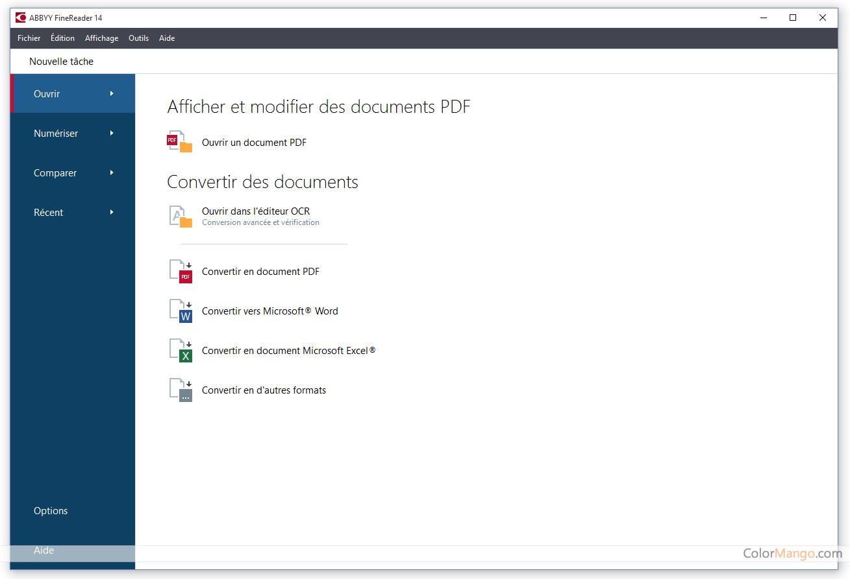 ABBYY FineReader PDF Screenshot