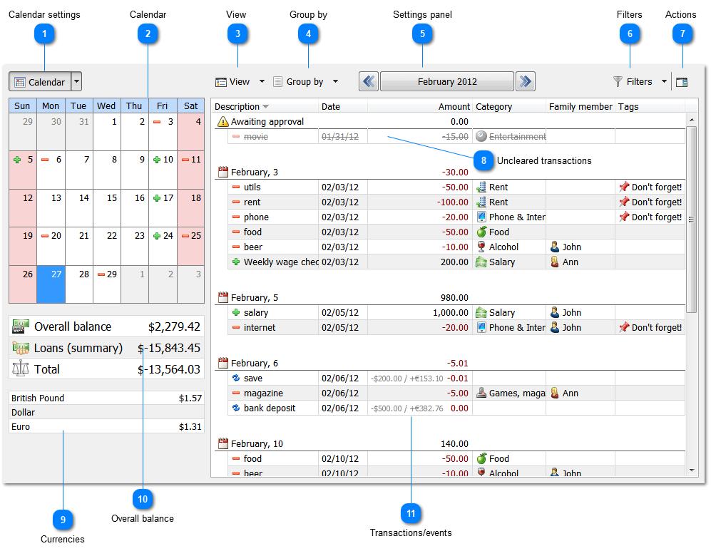 Alzex Personal Finance Screenshot