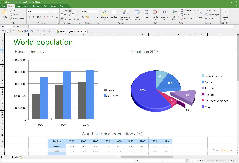 Ashampoo Office Screenshot