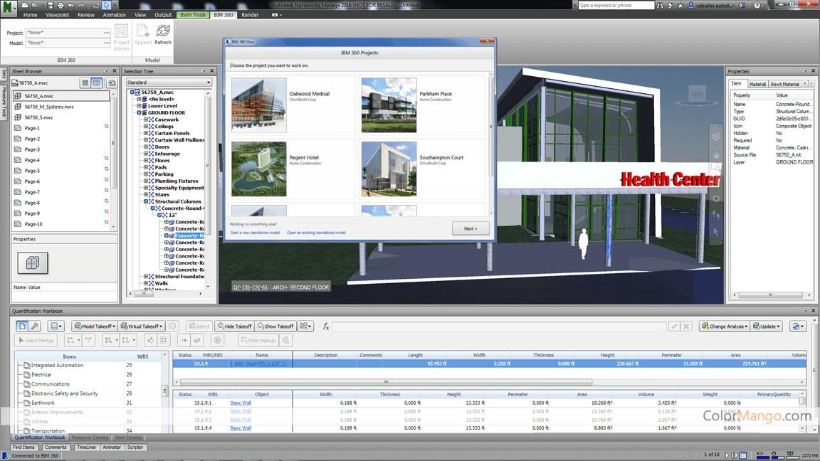 Autodesk Navisworks Simulate Screenshot