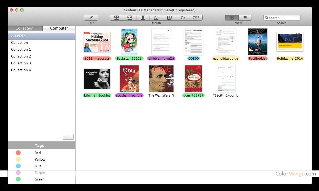 Cisdem PDF Manager Ultimate Screenshot