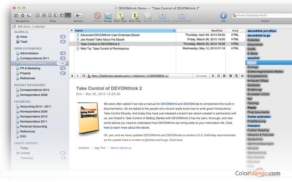 Devonthink pro 10 discount coupon 100 worked devonthink pro screenshot fandeluxe Gallery