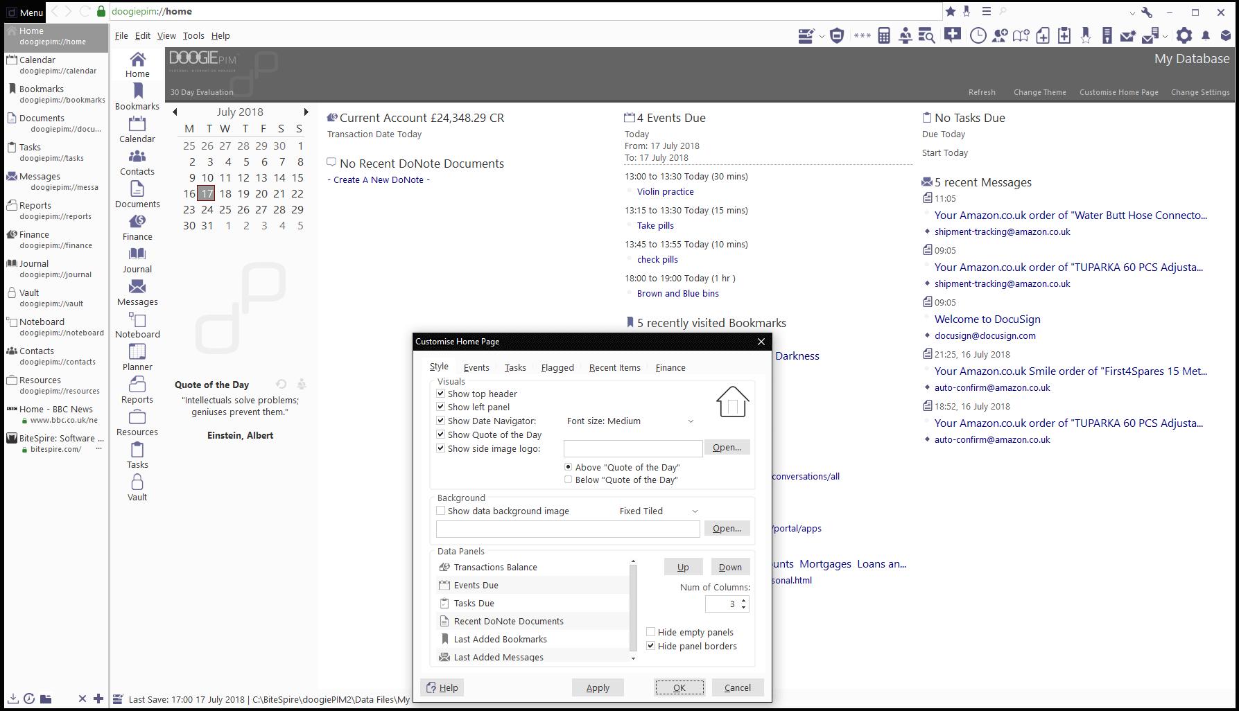 doogiePIM Screenshot