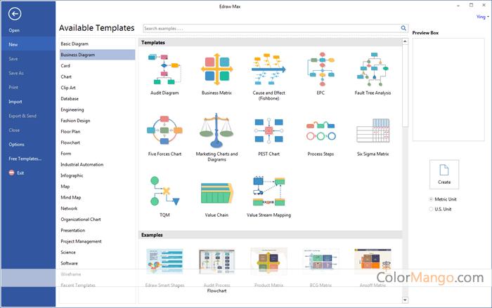 EdrawMax Screenshot