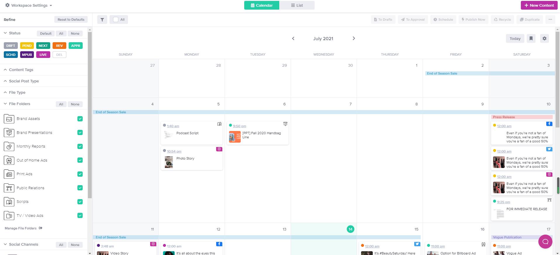 Gain Screenshot