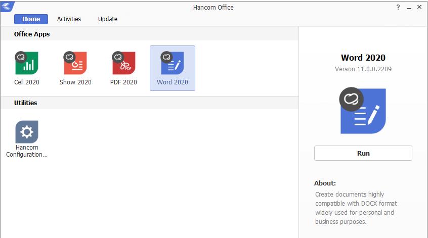 Hancom Office Screenshot