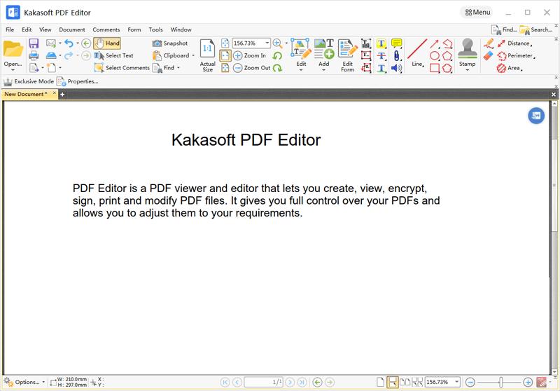 KakaSoft PDF Editor Screenshot