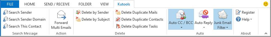 Kutools for Outlook Screenshot