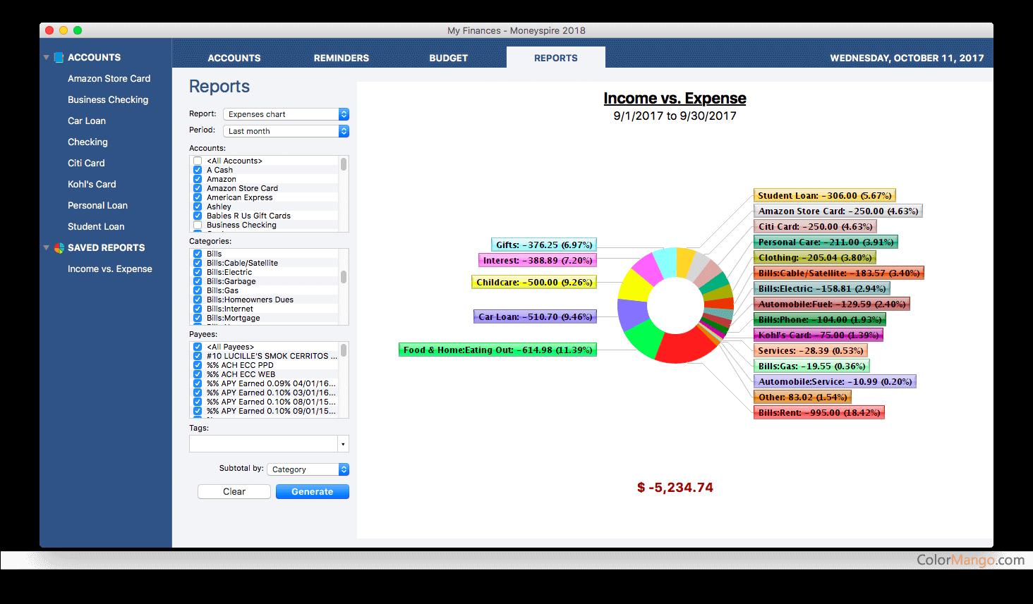 Moneyspire Screenshot