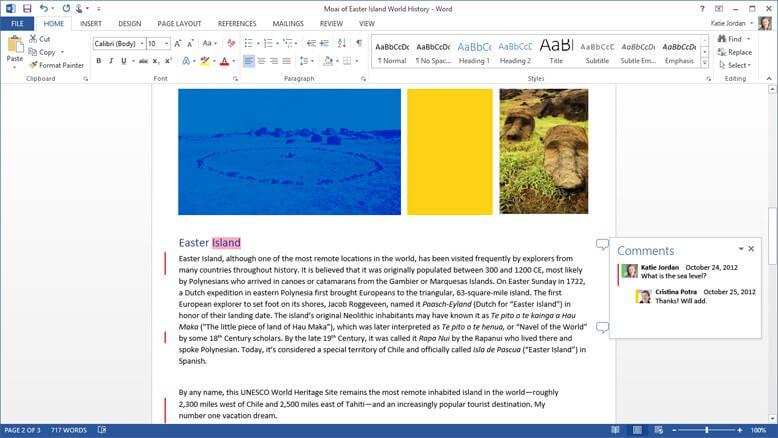 Microsoft 365 Screenshot