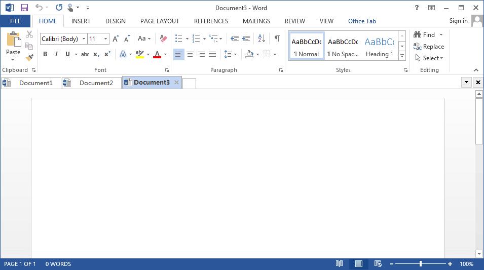 Office Tab Screenshot