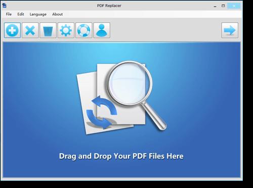 PDF Replacer Screenshot