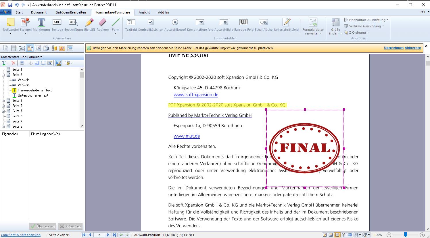 Perfect PDF Premium Screenshot