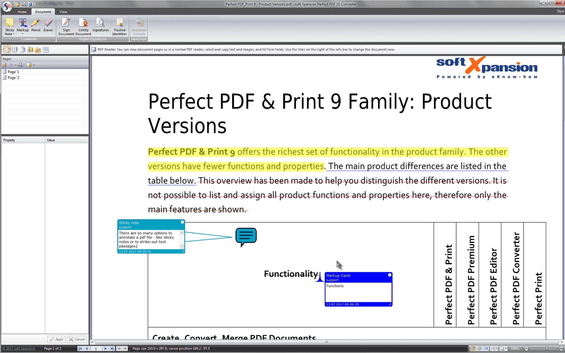 Perfect PDF & Print Screenshot