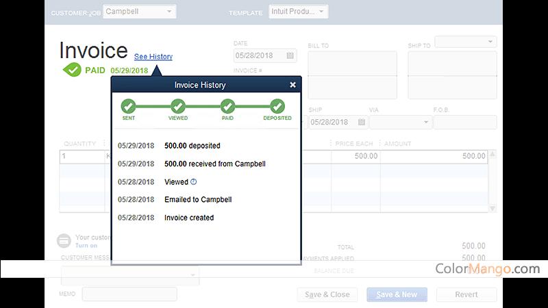 QuickBooks Desktop Premier Plus Screenshot