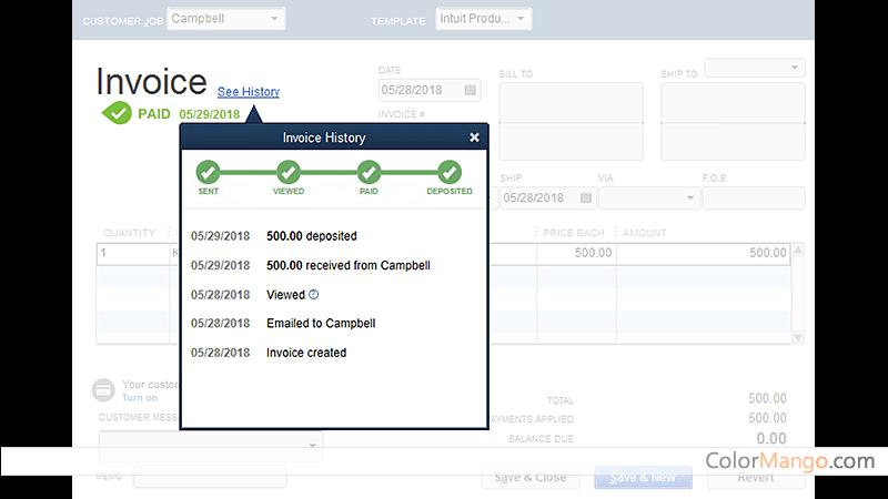 QuickBooks Desktop Pro Screenshot