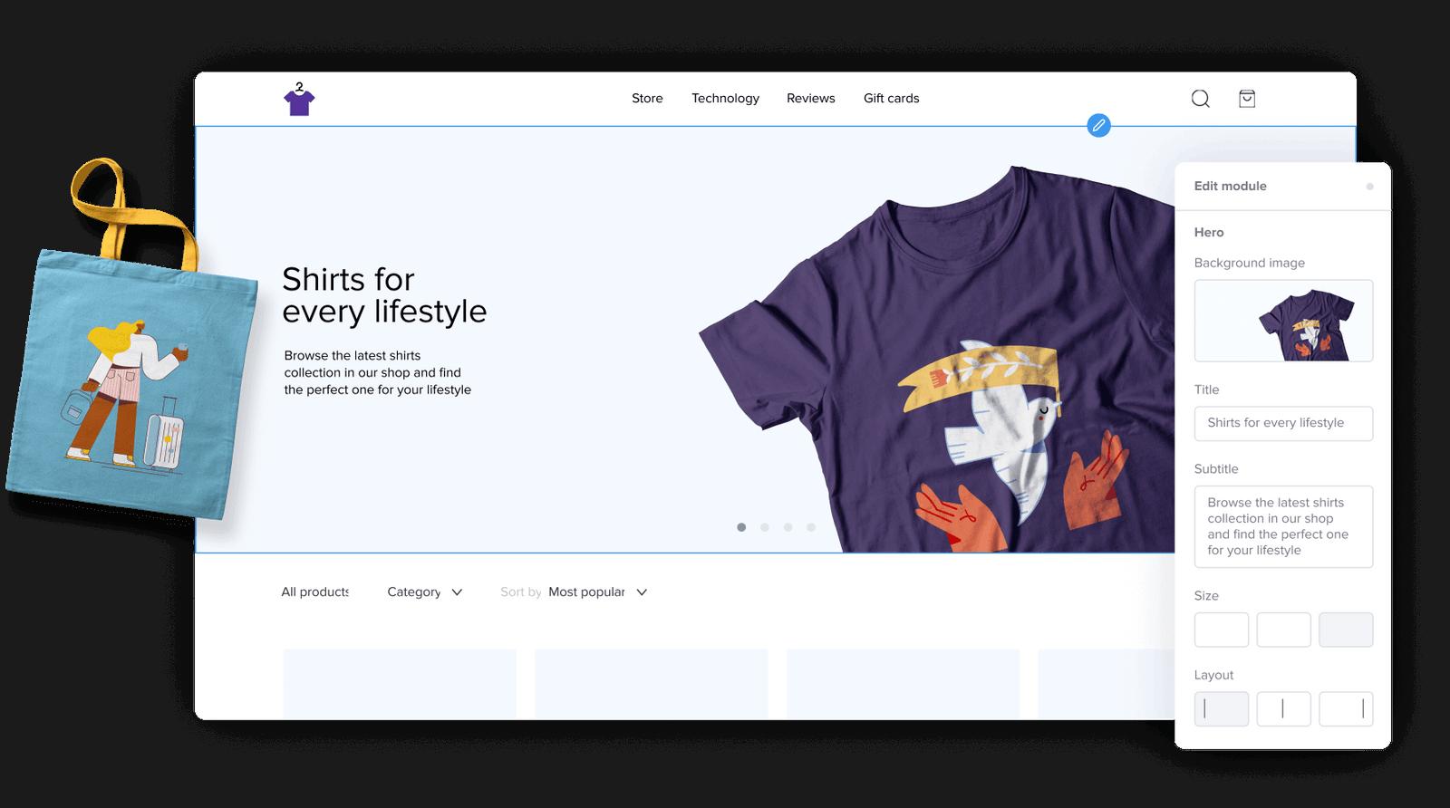 Sellfy Screenshot