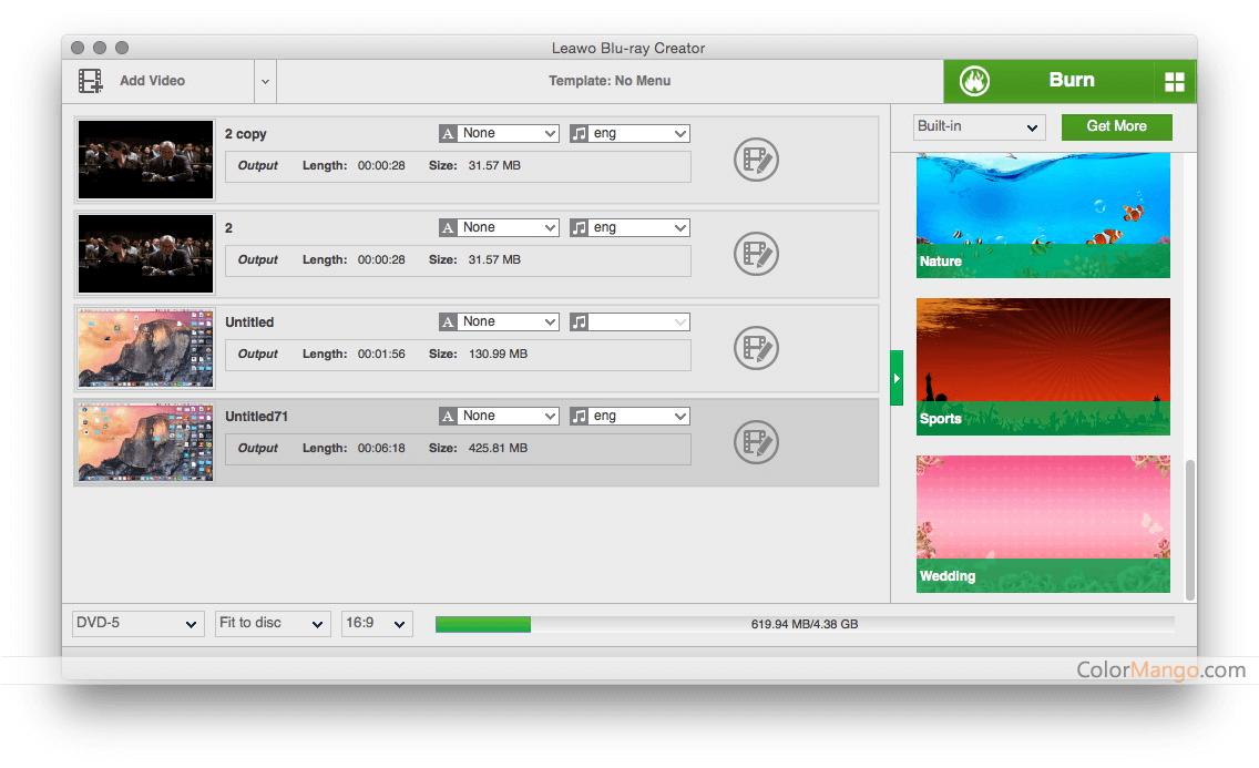 Leawo Blu-ray Creator for Mac 30% Discount