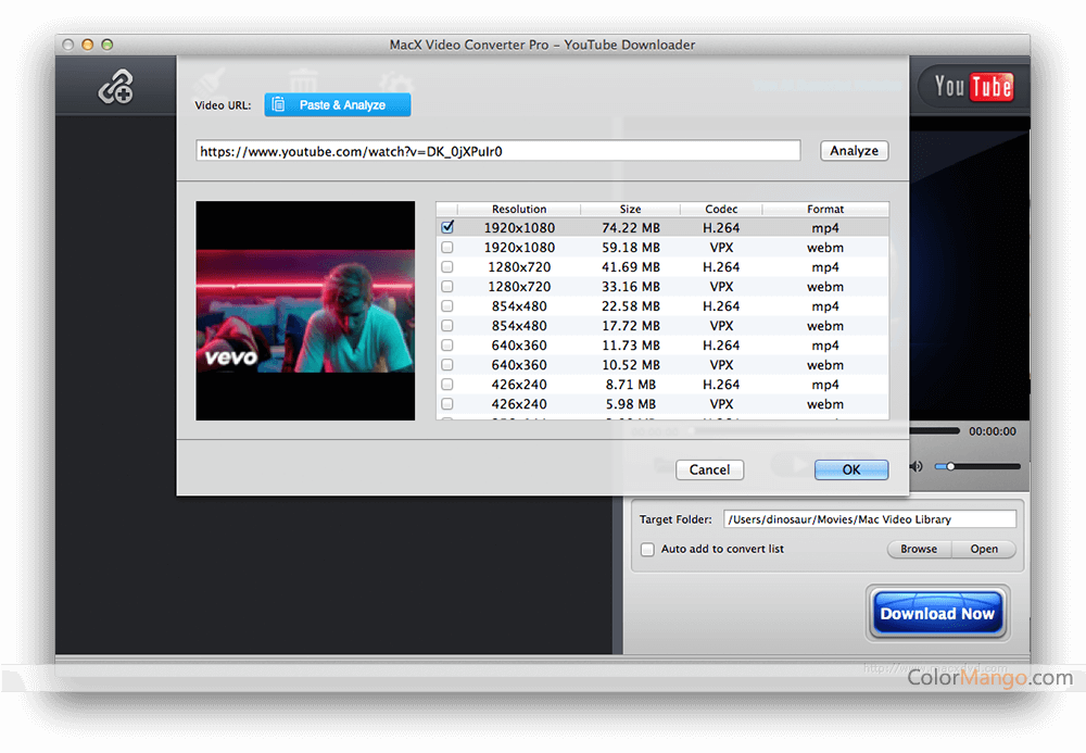 MacX DVD Video Converter Pro Pack Screenshot
