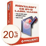 RonyaSoft CD DVD Label Maker Discount Coupon