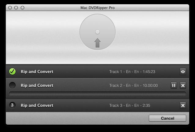 Mac DVDRipper Pro Screenshot