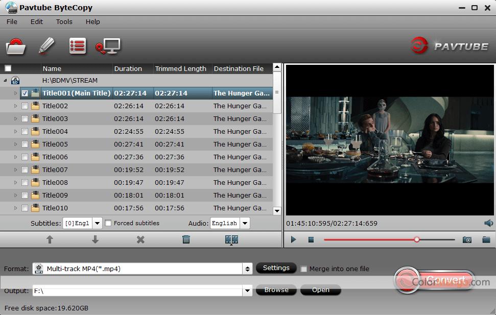 Pavtube ByteCopy Screenshot