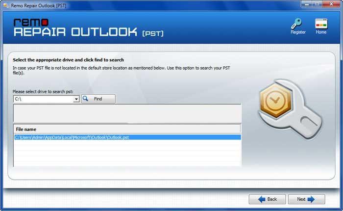 Outlook Pst Repair Free